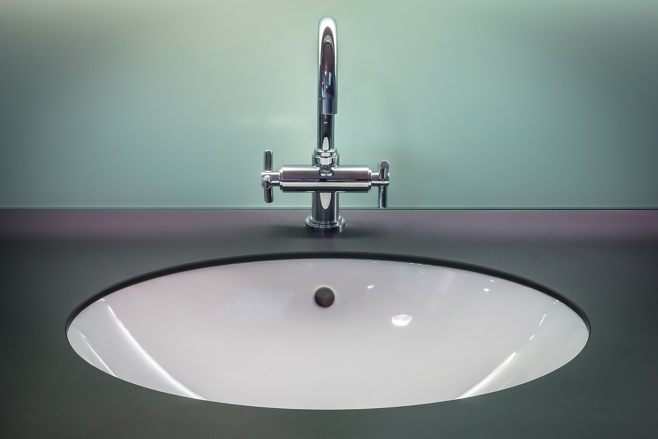 bathroom, clean, faucet