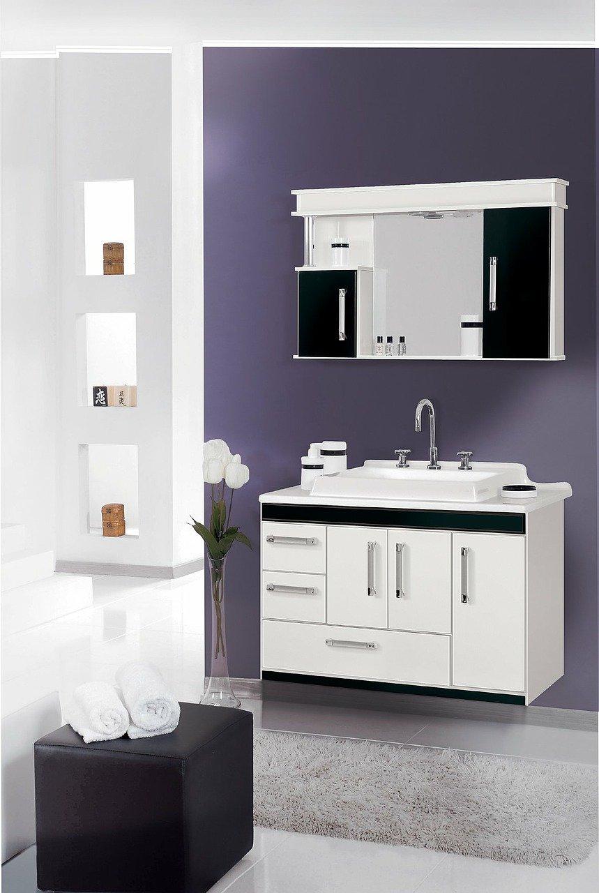 cabinet, bathroom, environment