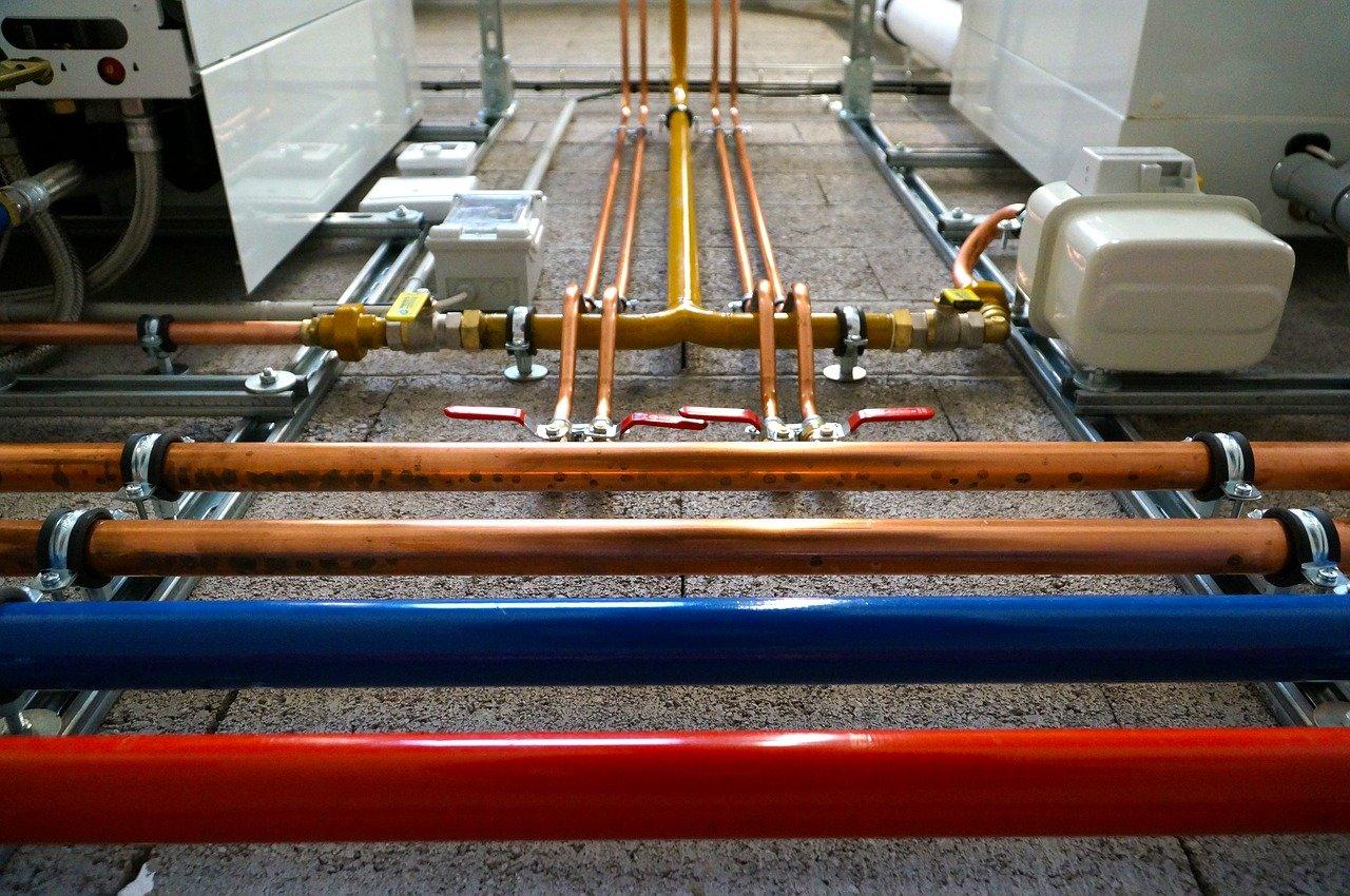 tubing, plumbing, heating